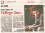 Jornal do Comércio - College Rock