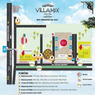 mapa villa mix