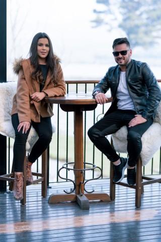 Jackson Machado e Emily Araujo